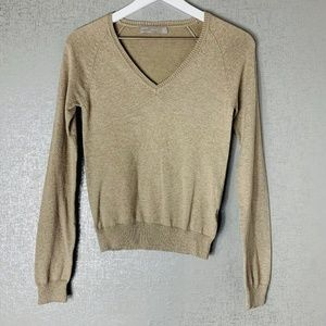 Zara Tan Sweater Size Small